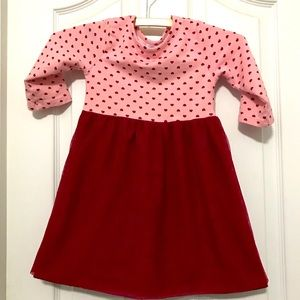 Wonder Nation heart dress Size 5T